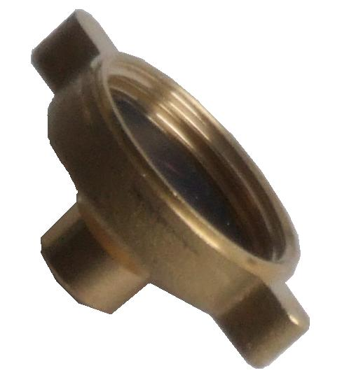 Brass Female Blank (BSP Thread)