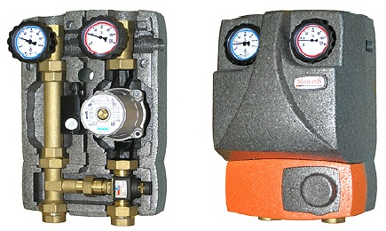 "M2 FIX3 1"" Fixed-mix Insulated Pump Unit"