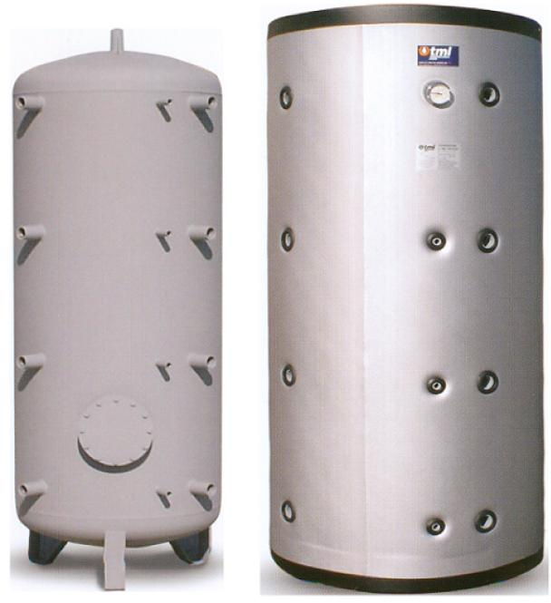 Buffer Tanks with 100mm PU Insulation