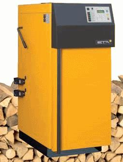 ETA SH Log Wood Gasification Boiler