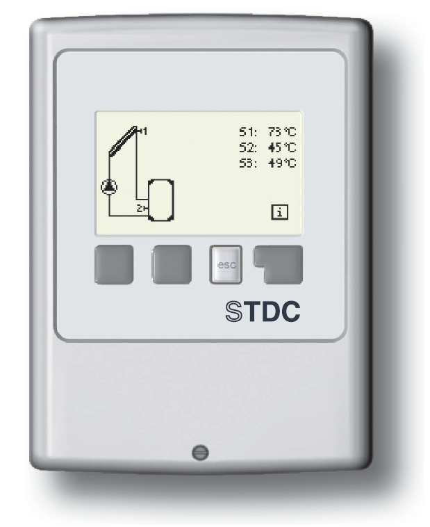 STDC Controller with 3 x PT1000 Sensors