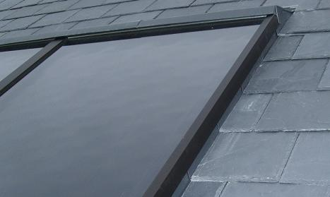 WF24 Integrated Panels - Slate Roof